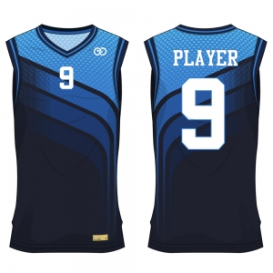 Custom Sublimated Basketball Compression Fit Jersey